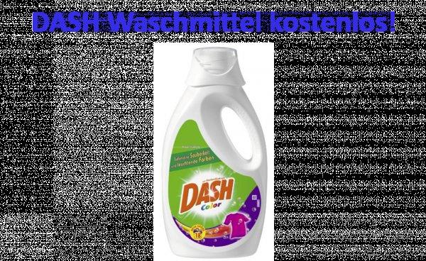 Dash Flüssigwaschmittel - Geld zurückgarantie