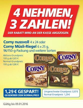 Real  - Corny - nimm 4 Zahl 3!