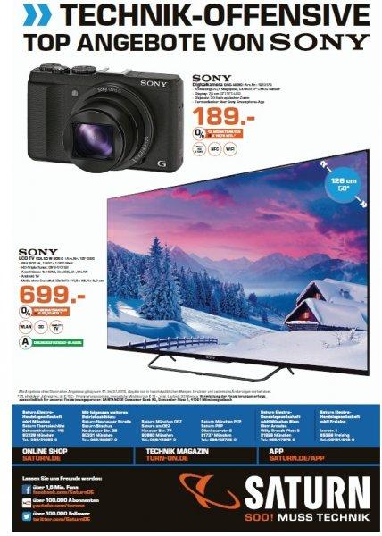 [lokal München + Freising] Sony Cyber-Shot DSC-HX60 für 189,00€ @ Saturn