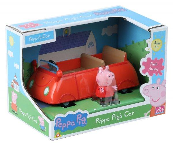 Peppa Pig Rotes Fahrzeug - red car (mit Figur) 6,60 Euro (Amazon Prime) statt 14,99 (idealo, ebay etc. )