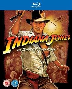 Indiana Jones: The Complete Adventures [Blu-ray] für 16,67€ bei Zavvi