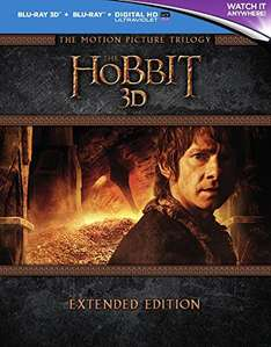 Hobbit Triologie 3D extended Blueray ohne deutsche Sprachoption