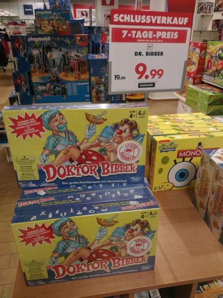 (Offline Karstadt)Doktor Bibber bis 5.1.2016 für 9.99 EUR