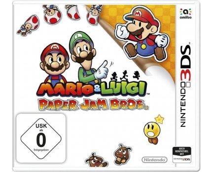 Mario & Luigi: Paper Jam Bros. (3DS) für 29,99€ bei SMDV