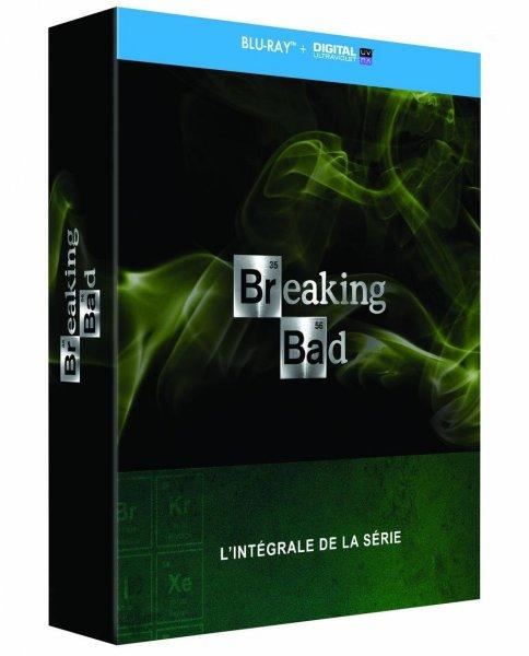 Breaking Bad - Die komplette Serie auf Blu-ray (OT) für 42€ bei Amazon.fr