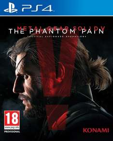 [Zavvi.de] Metal Gear Solid V: The Phantom Pain PS4 (Ton : Englisch, Deutsche Textausgabe)
