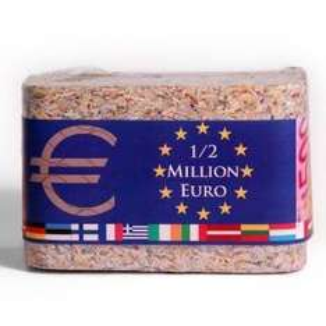 1/2 Million echte Euro als Barren