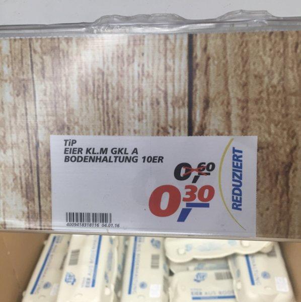 10 Eier für 0,30 Cent bei Real (Stuhr/Bremen)