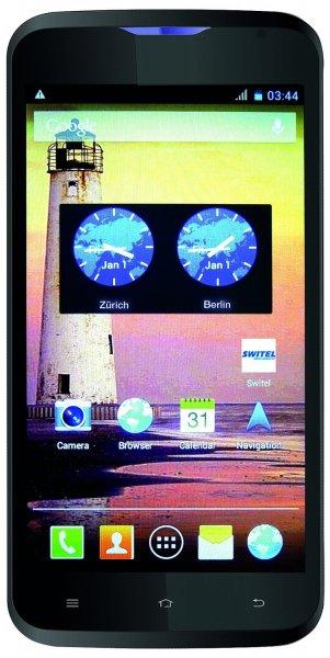 [Amazon] Switel S50D SKY Smartphone Dual-Sim (12,7 cm (5 Zoll) Farbdisplay, 5 Megapixel Kamera, Dual Core Prozessor, 1,2GHz, Bluetooth, Android 4.2) schwarz - Vorbestellung -