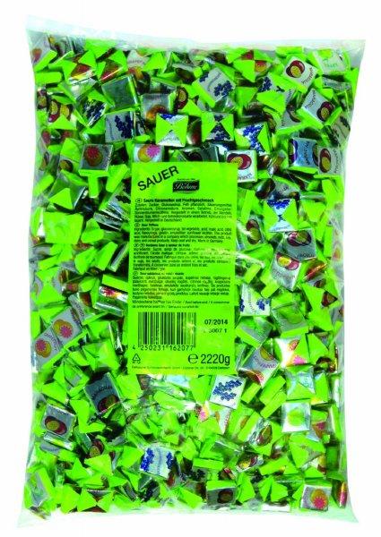 Halloren Saure Fruchkaramellen (2.22 kg) für 5,22€ bei Amazon (Plus Produkt)