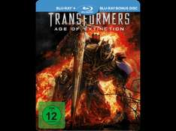 Transformers 4 (Saturn Exklusiv Steel Edition inkl. Bonus-Disc) - (Blu-ray) für 12,99 € @ Saturn.de