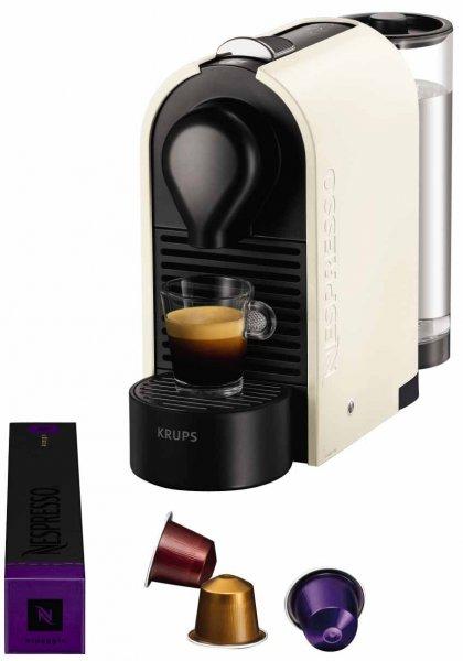 """[Amazon.fr] Krups YY1301 Nespresso """"U"""" Crème pur (Amazon Frankreich) 66,29 € inkl. Versand"""