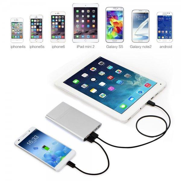 [Amazon Prime] 6000mAh externe Batterie Power Bank mit iPower Technologie mit 25% Rabatt für 11,25 Euro