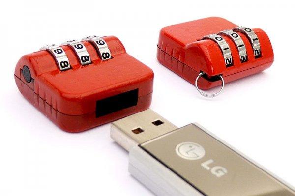 [Ebay] USB-Schloss USB-Stick Zahlenschloss Kombinationsschloss