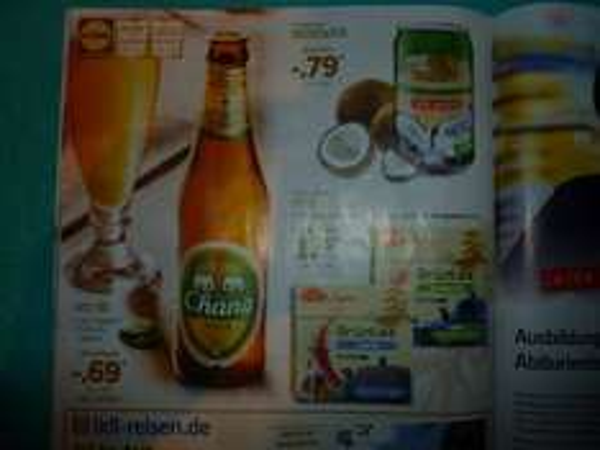 [Lidl bundesweit] Chang Bier für 0,69 € zzgl. 0,25 € Pfand (0,33 l Flasche)
