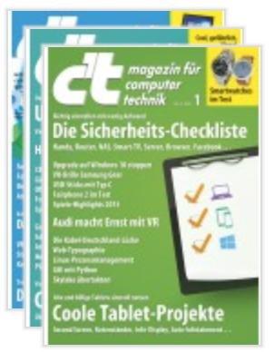 4 x c't als Heft für 11,80€ + 10€ Amazon Gutschein / Nur für Studenten!