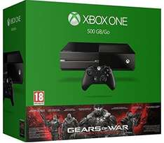 Xbox One 500GB + Gears of War: Ultimate Edition für 275,82€ bei Amazon.fr