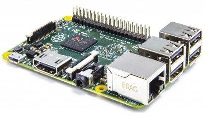 Raspberry Pi NBB-Bundle - Raspberry Pi 2 Model B + Gehäuse + Netzteil + 8GB Speicherkarte