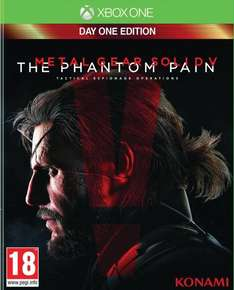 Metal Gear Solid 5: The Phantom Pain - Day One Edition (Xbox One) für 29,22€ bei Amazon.fr