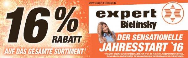 [Lokal Bonn] 16% Rabatt bei Expert Bielinsky