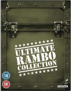 The Ultimate Rambo Collection 1-4 (Blu-ray) für 14,90€ bei Zavvi.de