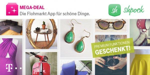 Shpock Premium Funktion geschenkt (für Telekom Kunden)