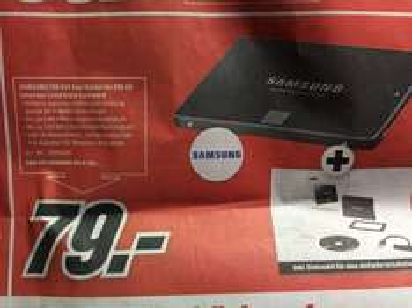 Samsung Evo850 250gb 79€ 500gb 139€