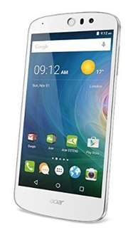 Acer Liquid Z530 weiss [HD Display, LTE, DUAL-SIM, 1.3GHz QuadCore-CPU, 1 GB RAM, 8MP Kamera, Android 5.1] inkl. für 111,32 € > [amazon.es]