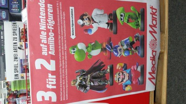 (Lokal Mediamarkt Porta) 3 für 2 Aktion auf alle Normalen Amiibo Figuren.Jede Figur 11,-. Aktion jetzt auch Bundesweit aber mit anderen Einzelpreisen