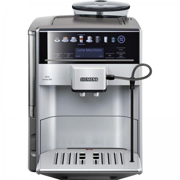 [MediaMarkt-Online] SIEMENS TE 60350 1 DE EQ.6 Kaffeevollautomat (Keramikmahlwerk, 1.7 Liter, Silber)
