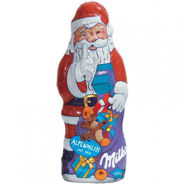 [worldofsweets.de] Milka Weihnachtsmann 130 g für 0,49 € + weitere Schnapper