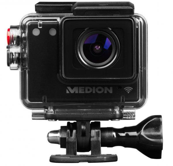 [Medion] WLAN Action Camcorder MEDION® LIFE® S47124 (MD 87156) 1920 x 1080 Pixel (30 fps) 5.0 Megapixel WLAN