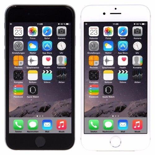 Apple i Phone 6 16 GB in Grau oder Silber ohne Simlock wie neu ohne Vertrag