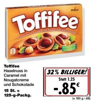 [Kaufland] Toffifee für nur 0,85€  als Super-Weekend ab 14.01