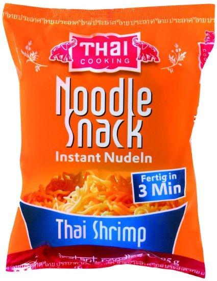 Thai Cooking Nudel Snack Shrimp, 20er Pack (20 x 85 g) / 6,38 EURO @AmazonPrime