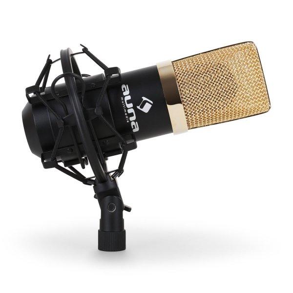 [Amazon] Auna MIC-900BG Kondensator-Mikrofon USB