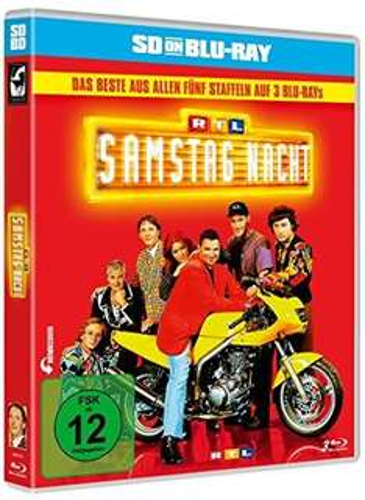 RTL Samstag Nacht - Das Beste aus allen fünf Staffeln! Jetzt als Blu-ray für 27,99€ @amazon.de!