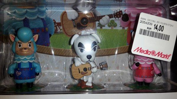 (Lokal? Mediamarkt Paderborn) amiibo Animal Crossing 3er Figuren-Set für 14€ (Kombinierbar mit 3für2 Aktion)