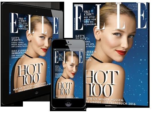 Gratis E-Paper+Print Zeitschriften-Ausgaben (2x ELLE , 2x Freundin, 2x InStyle, 4x Bunte, 2x Donna, 2x Harper's Bazaar)