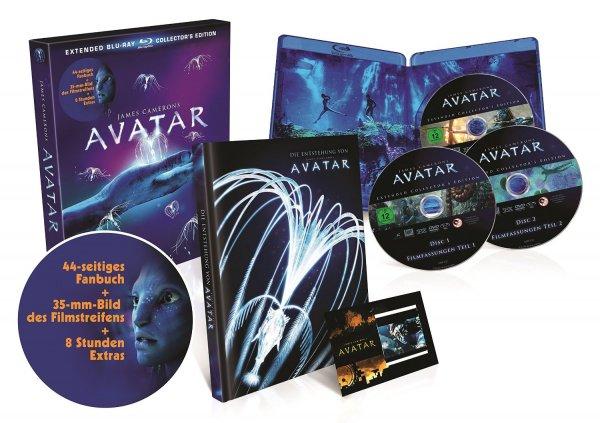 [Amazon Prime] Avatar Blu-ray Extended Collector's Edition inkl. Artbook für 11,99€ [14,99€ für Nicht-Prime-Kunden]