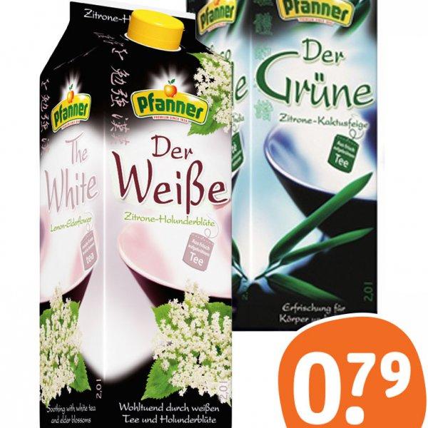 [tegut] Pfanner Tee 2 Liter, verschiedene Sorten ab 15.1 nur 0,79 €