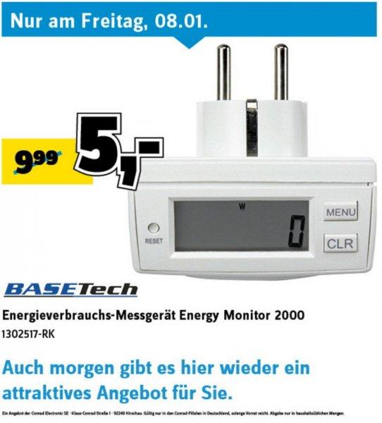 [Conrad bundesweit] Energieverbrauchs-Messgerät Energy Monitor 2000 für 5€, PVG: 9,99€ offline/14,89€ online