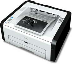 [Office-Partner] RICOH SP 213w Laserdrucker s/w (A4, Drucker, WLAN, USB)