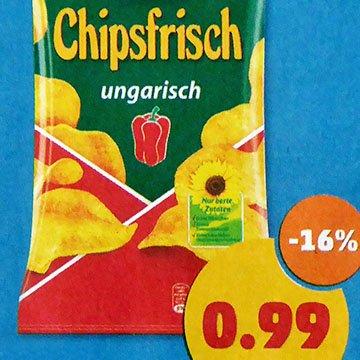 Funny-Frisch Chipsfrisch 175g für nur 0,99 € bei [Penny]