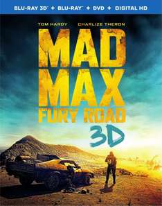 [Lokal Freiburg Media Markt] Mad Max 4 - Fury Road - Blu-ray 3D + 2D + UltraViolet