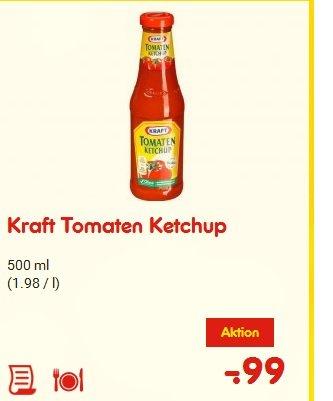 [Netto MD] Kraft Tomaten Ketchup 500ml 0,99€