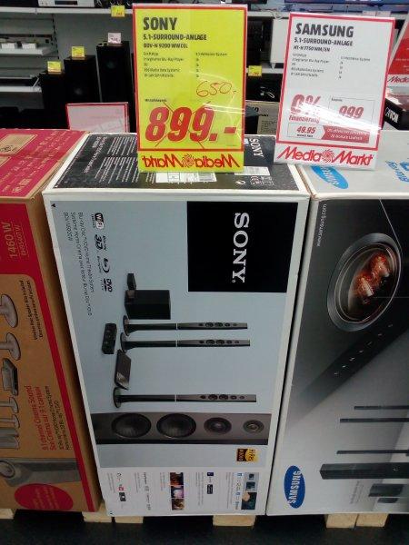 Sony BDV-N9200W Schwarz im MM Milaneo Stuttgart