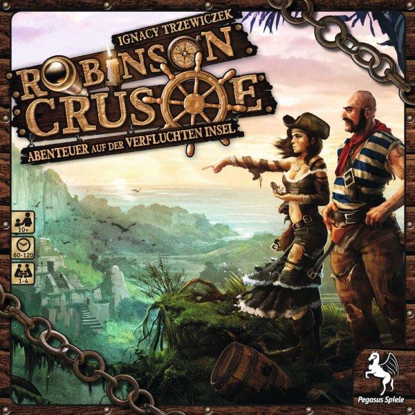 Robinson Crusoe - Abenteuer auf der Verfluchten Insel (Brettspiel, Gesellschaftsspiel, Buch.de)