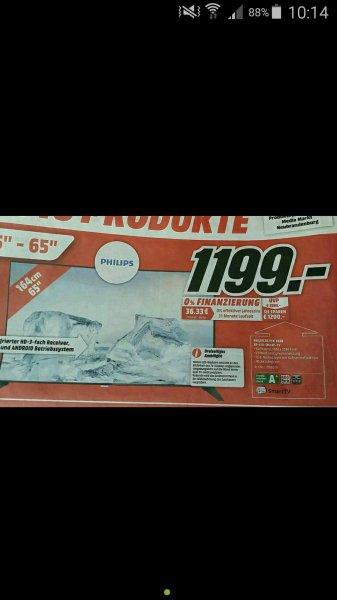[MM NB] Philips 65PFK6520 für 1199