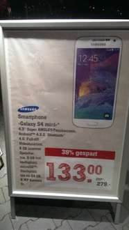 [lokal REWE Center Darmstadt] Samsung Galaxy S4 mini
